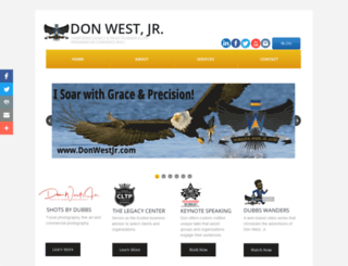 donwestjr.com screenshot