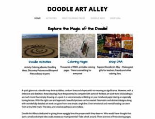 doodle-art-alley.com screenshot