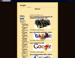 doodlefromgoogle.blogspot.com screenshot