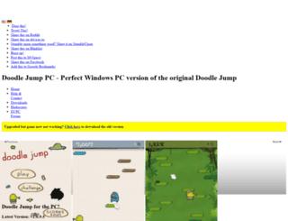 doodlejumppc.drakendev.com screenshot