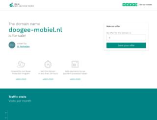 doogee-mobiel.nl screenshot