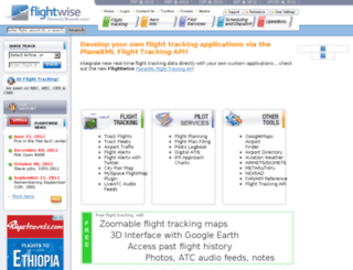 dooku.flightwise.com screenshot