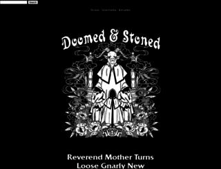 doomedandstoned.com screenshot