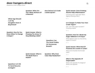 door-hangers-direct.com screenshot