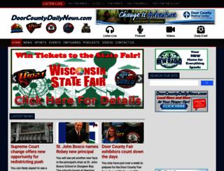 doorcountydailynews.com screenshot