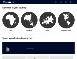 doorhan.com screenshot