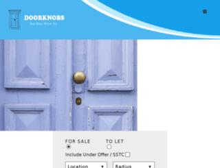 doorknobs.co.uk screenshot