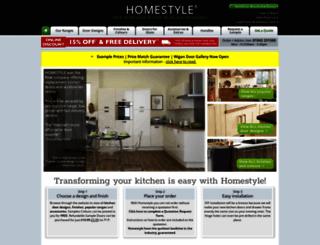 doors.homestylekitchens.co.uk screenshot