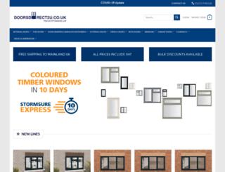 doorsdirect2u.co.uk screenshot