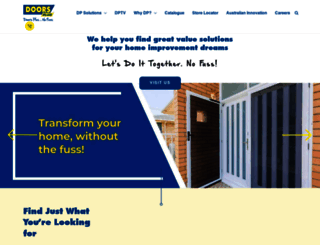 doorsplus.com.au screenshot