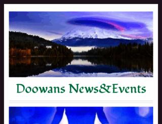 doowansnewsandevents.wordpress.com screenshot