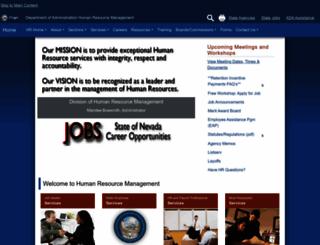 dop.nv.gov screenshot
