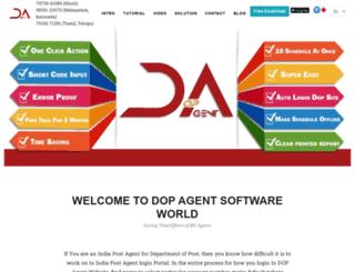 dopagentsoftware.com screenshot