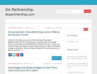 dopartnership.com screenshot