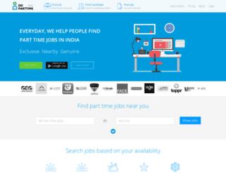 doparttime.com screenshot