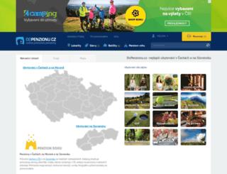 dopenzionu.cz screenshot