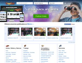 doplim.com.mx screenshot