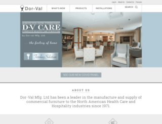 dor-val.ca screenshot