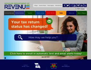 dor.mo.gov screenshot