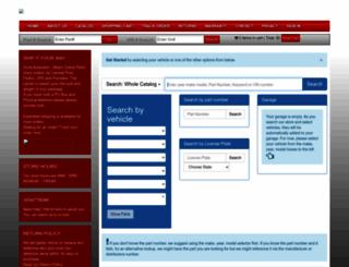 doralautoparts.com screenshot