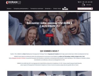 doranco.fr screenshot