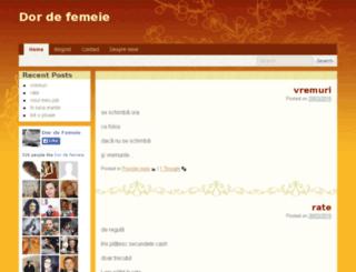 dordefemeie.wordpress.com screenshot
