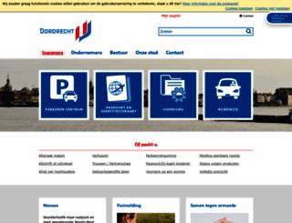 dordrecht.nl screenshot