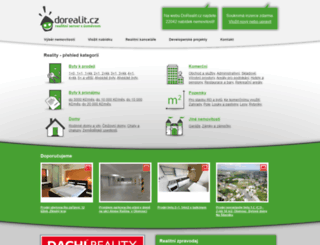 dorealit.cz screenshot