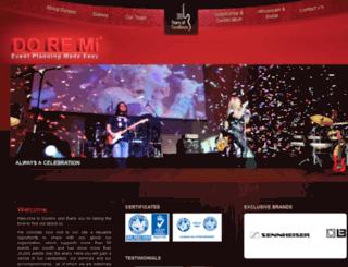 doremievent.macromac.org screenshot