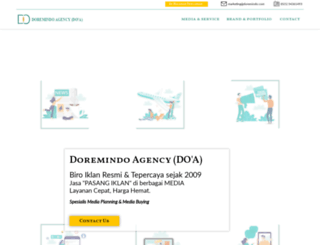 doremindo.co.id screenshot