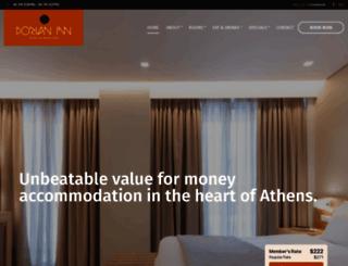 dorianinnhotel.com screenshot