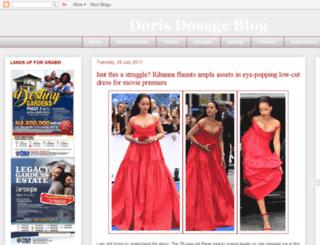 dorisdosage.blogspot.com screenshot