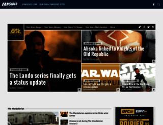 dorksideoftheforce.com screenshot