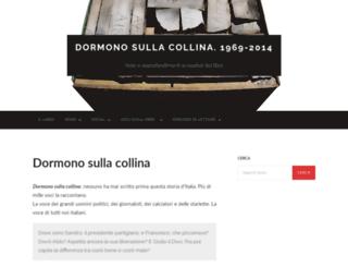 dormonosullacollina.ilsaggiatore.com screenshot