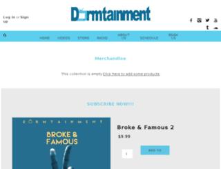 dormtainment.com screenshot