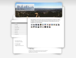 dorncommercial.com screenshot