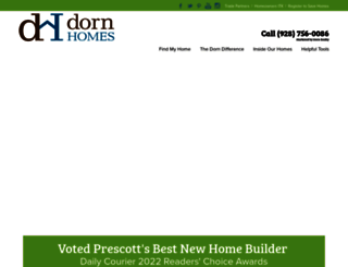 dornhomes.com screenshot