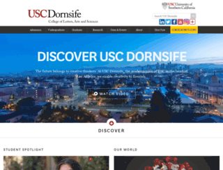 dornsifecms.usc.edu screenshot