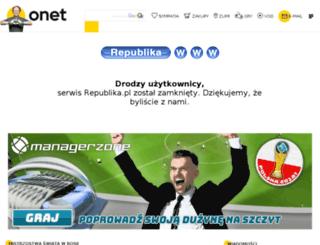 dorotadankowska.republika.pl screenshot