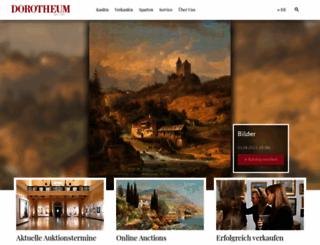 dorotheum.com screenshot