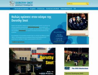 dorothy-snot.gr screenshot