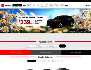 dorscheltoyota.calls.net screenshot