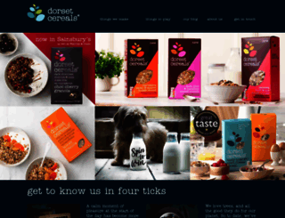 dorsetcereals.co.uk screenshot