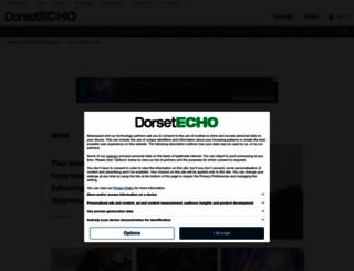 dorsetecho.co.uk screenshot
