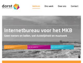 dorstcommunicatie.com screenshot