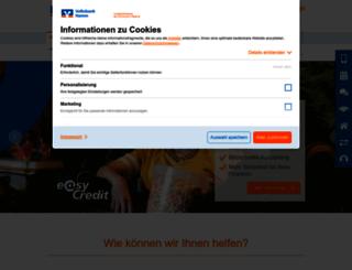 dortmunder-volksbank.de screenshot