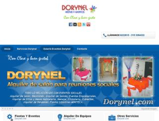 dorynel.com screenshot