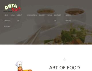 dosaplaza.sg screenshot