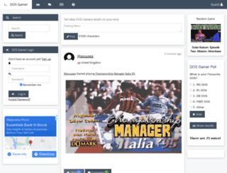 dosgamer.com screenshot