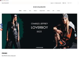 doshaburi.com screenshot